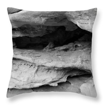 Throw Pillow featuring the photograph Formation by Colleen Coccia