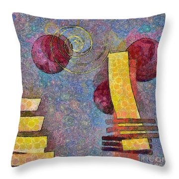 Formes - 08a Throw Pillow by Variance Collections