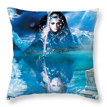 Fortunes Dream Throw Pillow by Andrew Farley
