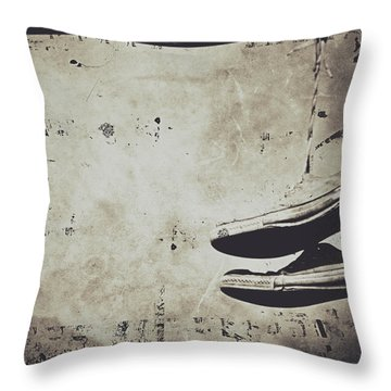 Foster The Kicks Throw Pillow by Empty Wall
