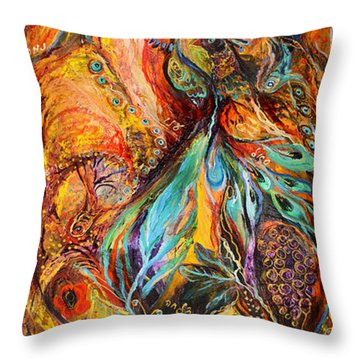 Four Elements Earth Part 3 From 4 Throw Pillow