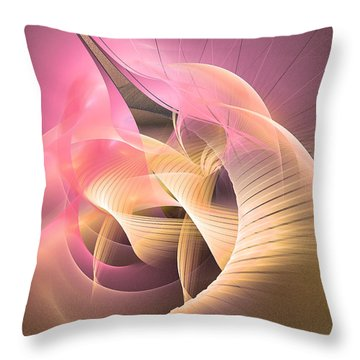 Perpetuum Mobile - Abstract Art Throw Pillow