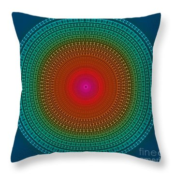 Fragile And Warm Throw Pillow by Atiketta Sangasaeng