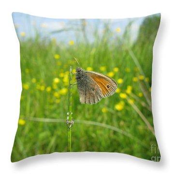 Throw Pillow featuring the photograph Fragile Beauty #02 by Ausra Huntington nee Paulauskaite