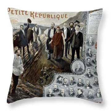 France: Socialism, 1900 Throw Pillow by Granger