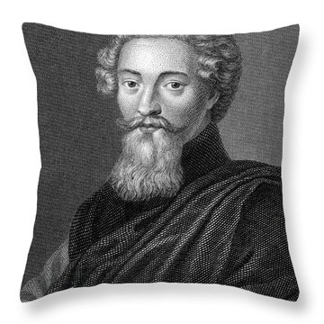 Francis Beaumont (1584-1616) Throw Pillow by Granger