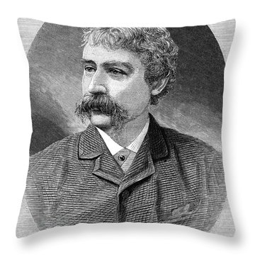 Francis Brett Harte Throw Pillow by Granger