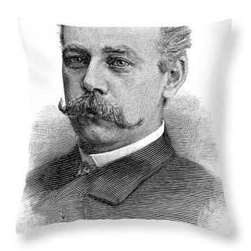 Francis E. Warren (1844-1929) Throw Pillow by Granger