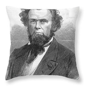 Francis H. Pierpont (1814-1899) Throw Pillow by Granger