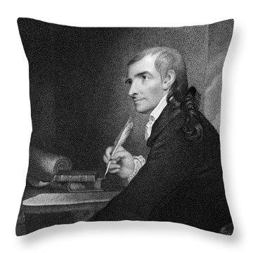 Francis Hopkinson (1737-1791) Throw Pillow by Granger