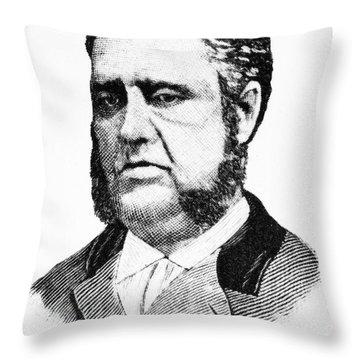 Francis Louis Cardozo (1836-1907) Throw Pillow by Granger