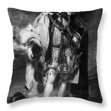 Francis Osborne (1751-1799) Throw Pillow by Granger