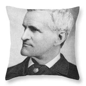 Francis Parkman (1823-1893) Throw Pillow by Granger