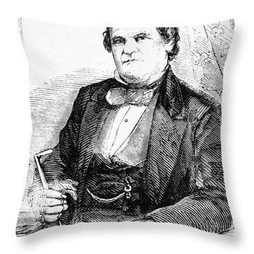 Francis Wilkinson Pickens Throw Pillow by Granger
