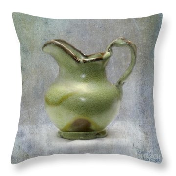Frankhoma Pitcher Throw Pillow by Betty LaRue