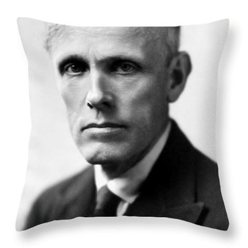 Frederic Ridgely Torrence Throw Pillow by Granger