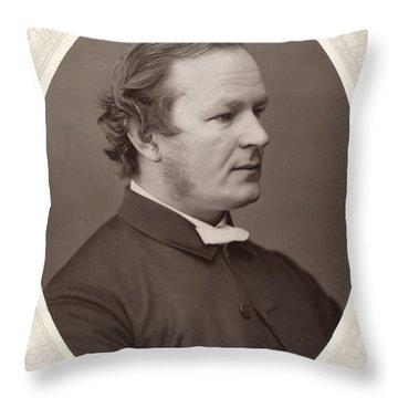 Frederic William Farrar Throw Pillow by Granger
