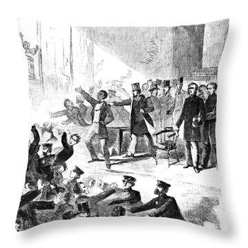 Frederick Douglass, 1860 Throw Pillow by Granger