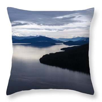 Frederick Sound Morning Throw Pillow