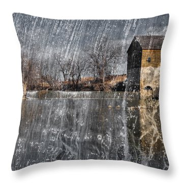 Fredonia Mill Throw Pillow