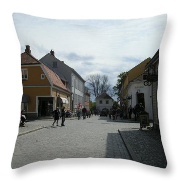 Fredrickstad Norway Throw Pillow
