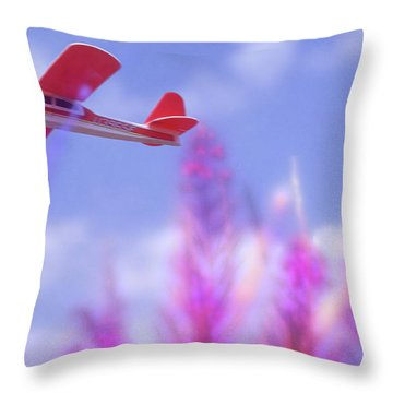 Free Flight Throw Pillow