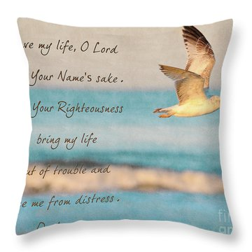 Freedom Flight Throw Pillow by Constance Woods