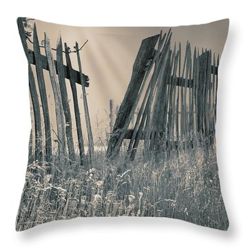 Throw Pillow featuring the photograph Freedom by Mary Almond