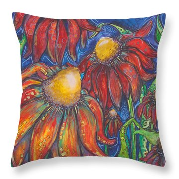 Freedom Throw Pillow by Tanielle Childers