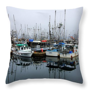 French Creek  Throw Pillow by Bob Christopher