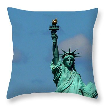 French Gift Throw Pillow by Eric Tressler