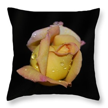 Fresh As The Morning Dew Throw Pillow