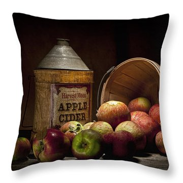Fresh From The Orchard II Throw Pillow by Tom Mc Nemar