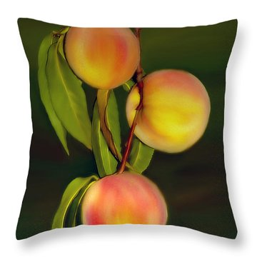 Fresh Fruit Throw Pillow