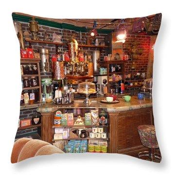 Friends Tv Show Set Throw Pillow by Jeff Lowe