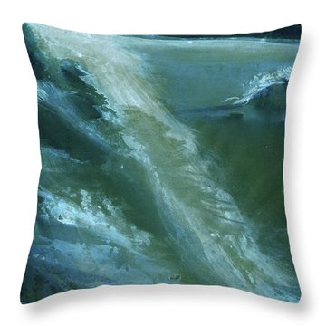From Darkness To Light Throw Pillow by Anil Nene
