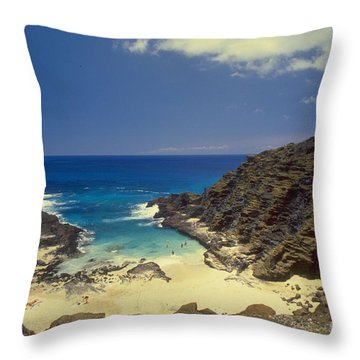 From Here To Eternity Beach Throw Pillow by Mark Gilman