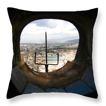 Inside The Duomo Dome Throw Pillow