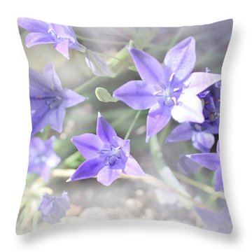Throw Pillow featuring the photograph From My Garden by Kume Bryant