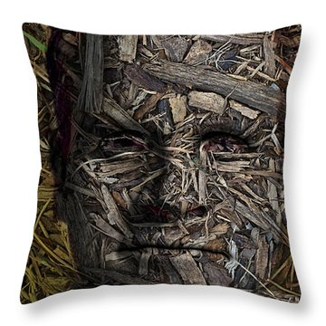From The Earth Throw Pillow by Christopher Gaston