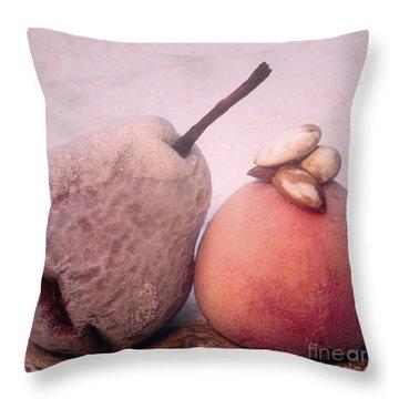 Frozen Fruits Throw Pillow by Bernard Jaubert
