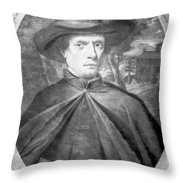 Fr�re Jacques Beaulieu, French Throw Pillow by Science Source