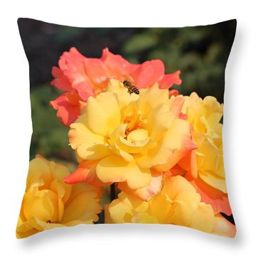 Throw Pillow featuring the photograph Fruits Of Life by Jo Sheehan