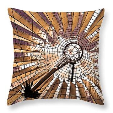 Fujisan In Berlin Throw Pillow by Juergen Weiss