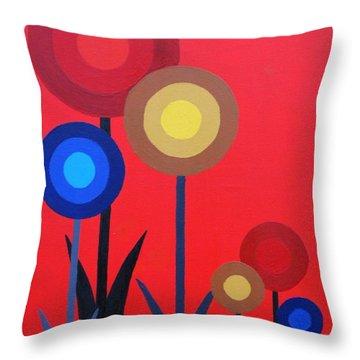 Fun Colours 6 Throw Pillow