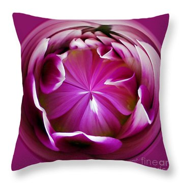 Fuschia Throw Pillow