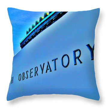 G O Throw Pillow