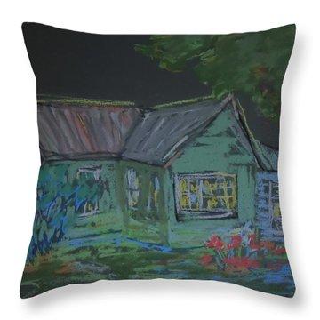Gabby's House Throw Pillow