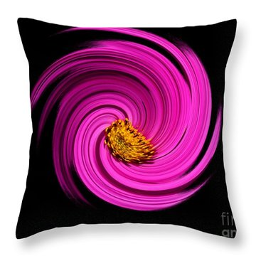 Galaxy Throw Pillow by Sylvie Leandre