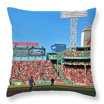 Game Day Throw Pillow by Joann Vitali